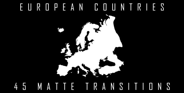 European Countries Matte Transitions