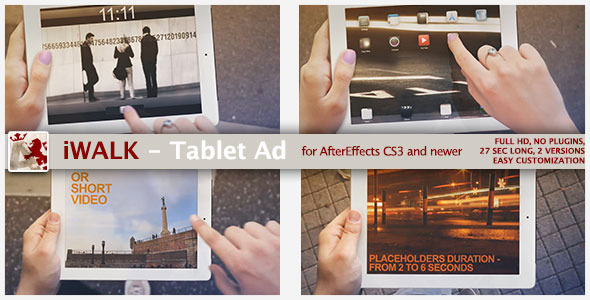 iWalk - Tablet Ad