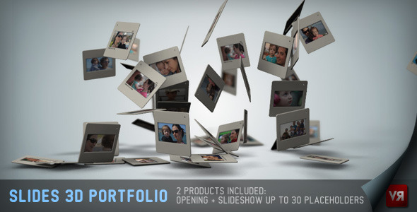 Slides 3D - Portfolio And Opening