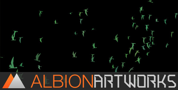 Flocking Bird Generator