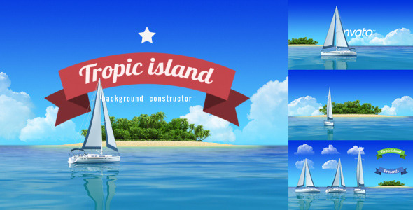 Yacht Sailing Island Travel Intro