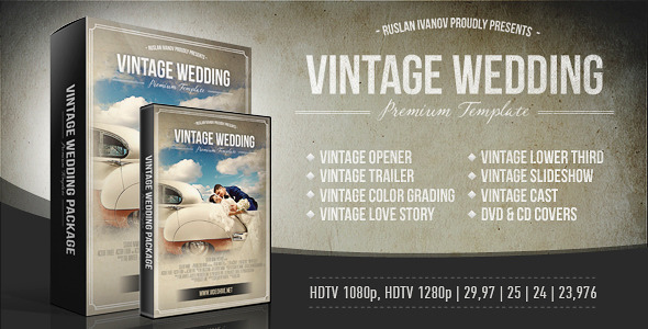 Vintage Wedding Package