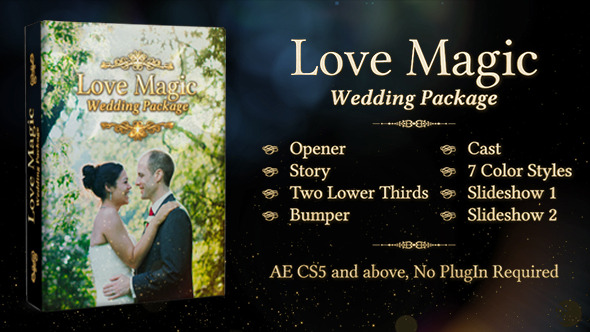 Love Magic Wedding Package