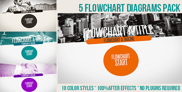 Flowchart Diagrams Pack