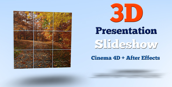 3D Presentation Slideshow