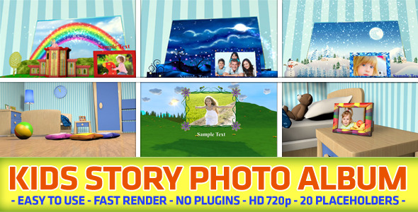Kids Story Photo Album