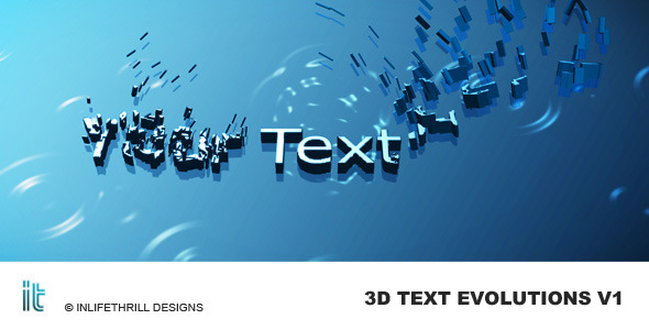 3D-Text Evolutions