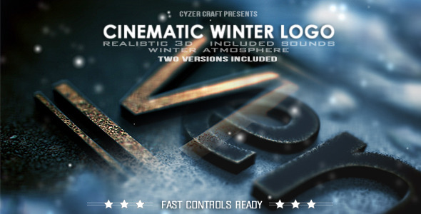 Cinematic Winter Logo