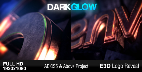 Dark Glow Logo Reveal