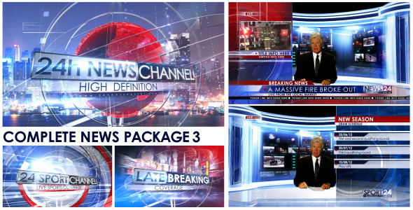 Broadcast Design - Complete News Package 3