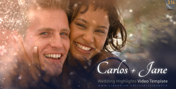 Wedding Highlights - Video Template