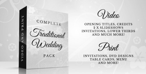 Complete Traditional Wedding Pack