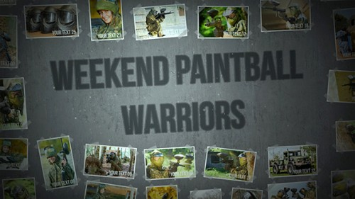 Weekend Paintball Warriors