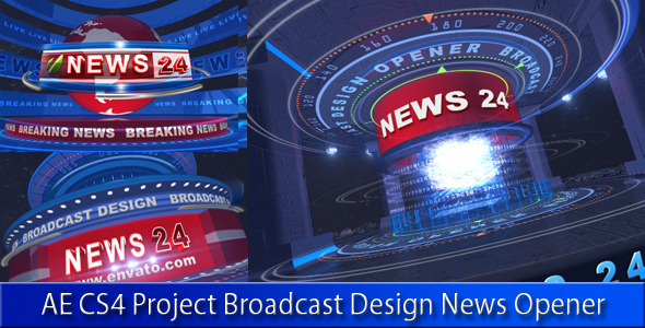 Broadcast Design News Opener