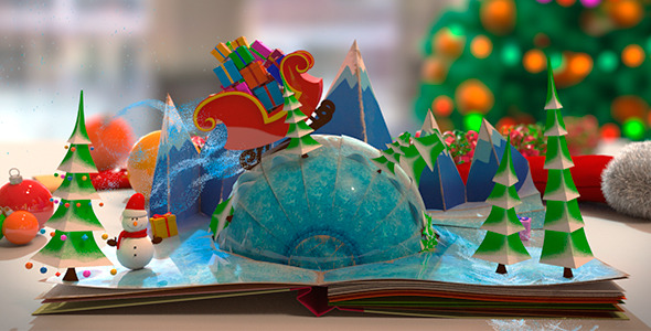 Christmas Pop-Up Book