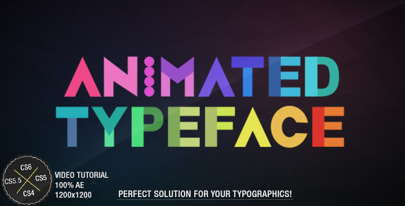 Animated Typeface