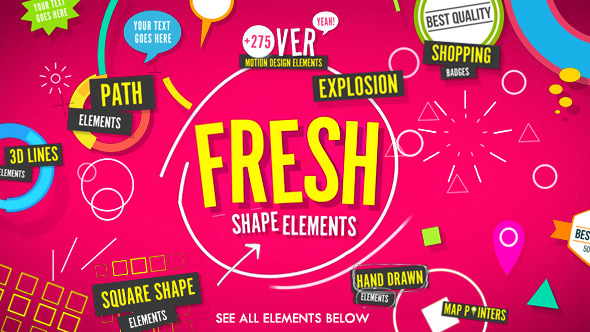 Shape Elements Fresh