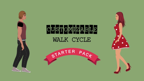 Walk Cycle Starter Pack