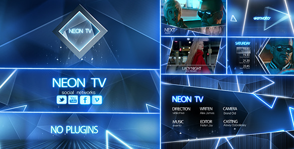 Neon TV Broadcast Package