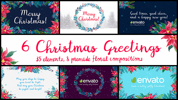 6 Christmas Greetings