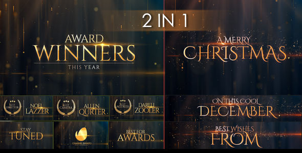 Award Winners & Christmas Message