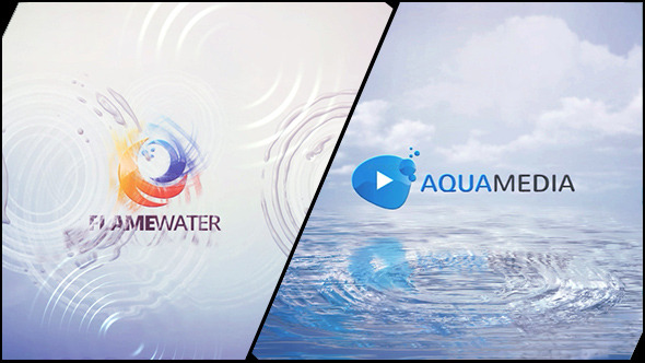 Clean Logo V03 Water Ripples