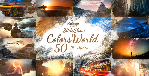 Colors World Ink Slideshow