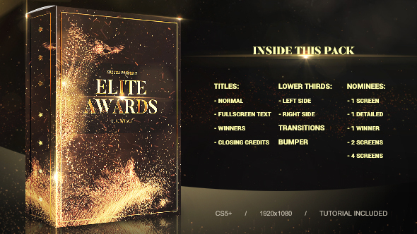 Elite Awards Pack
