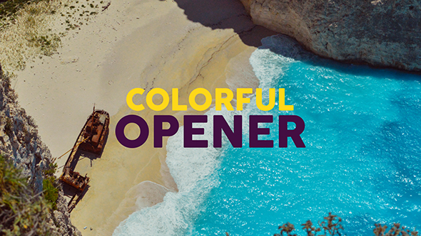 Colorful Opener