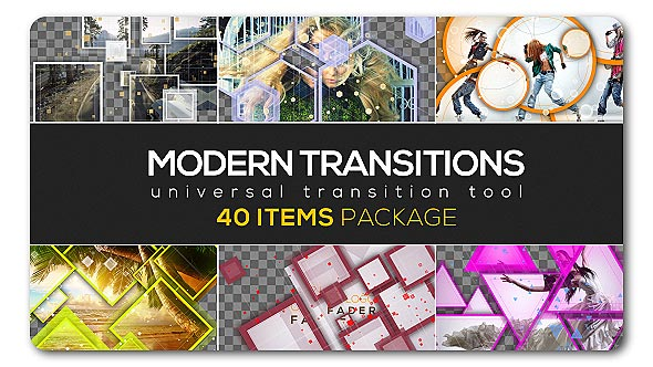 Modern Transition Pack | 40 items