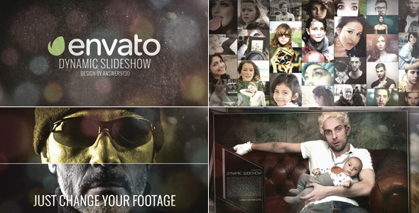 Dynamic Slideshow - After Effects Project (Videohive)