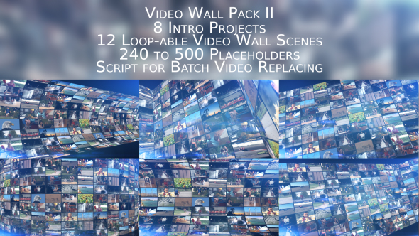 Video Wall Pack II