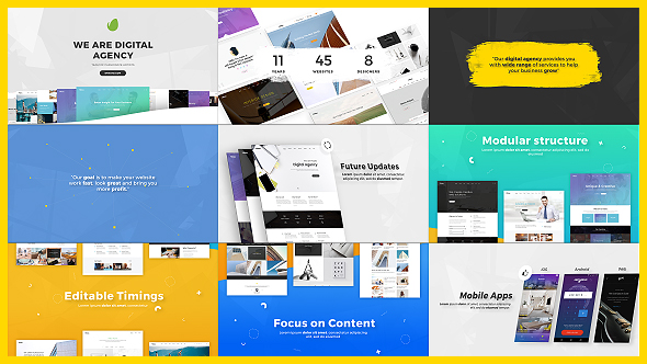Digital Agency / Startup / Website Presentation