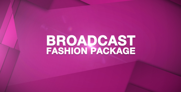 Broadcast Fashion Package