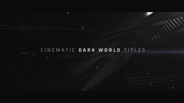 Cinematic Titles - Dark World