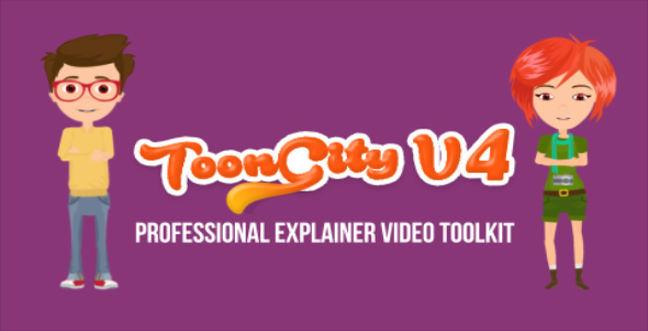 Explainer Video Toolkit | Toon City 4