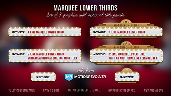 Marquee Lower Thirds