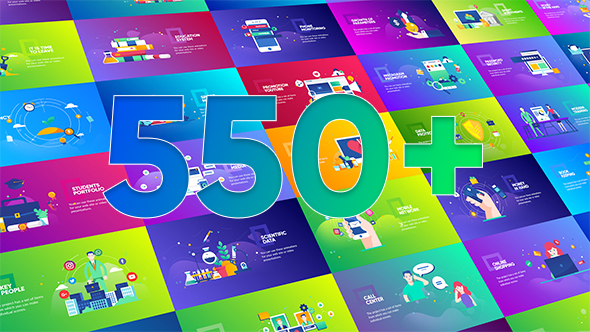 Flat Design Concepts Package