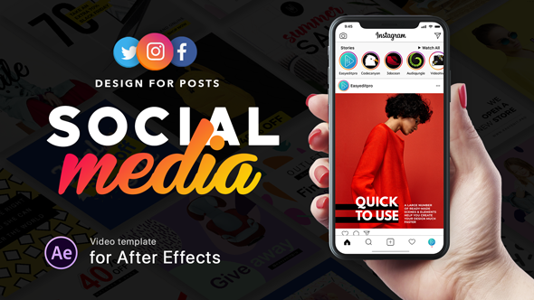 Social Media - Design for Posts