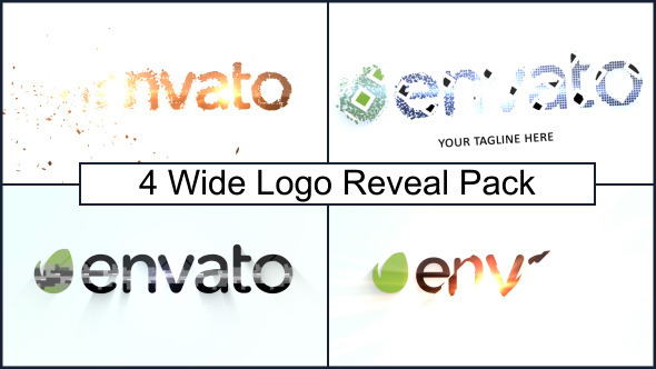 Wide Logo Reveal Pack