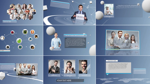 Clean & Simple Corporate Presentation