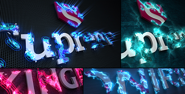 Sci-Fi Energy - Logo Reveal Pack