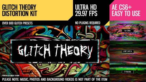 Glitch Theory (UltraHD Distortion Kit)