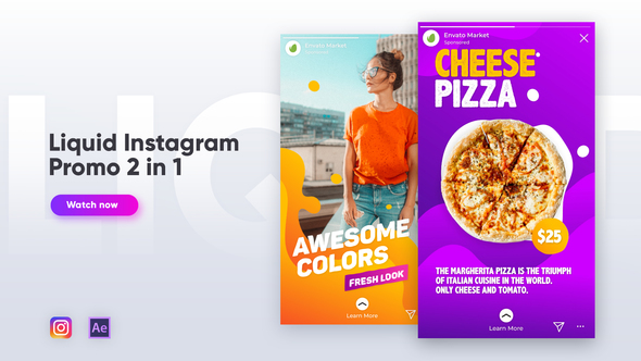 Liquid Instagram Promo 2 in 1
