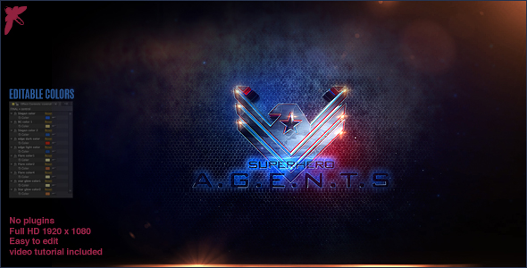 Superhero Agents Logo