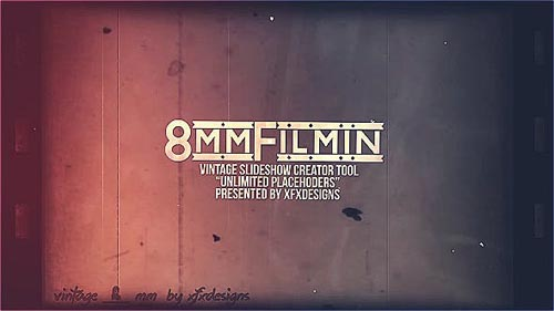 8mm Slideshow Creator Tool For Vintage Film Look