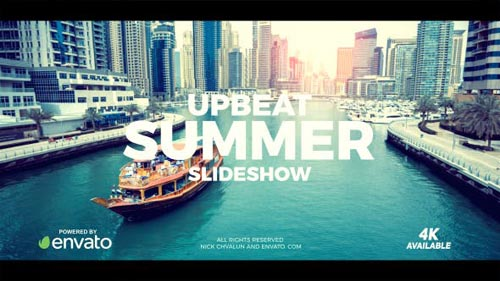 Upbeat Summer Slideshow
